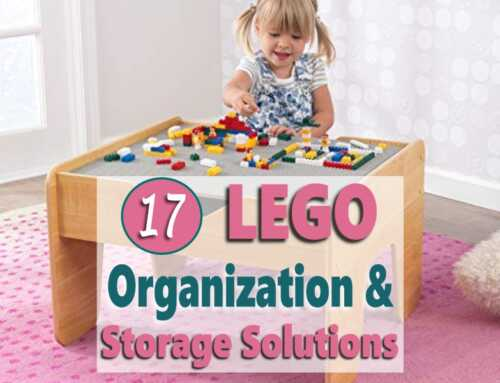 17 LEGO Organization & Storage Solution Ideas