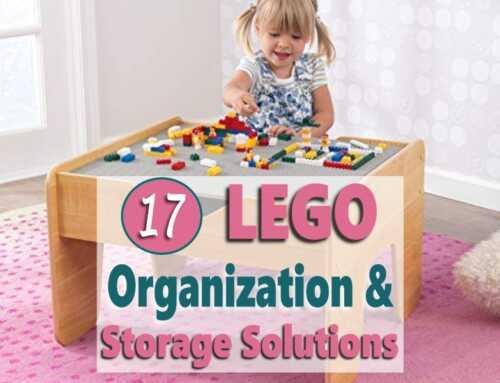 17 LEGO Organization & Storage Solution Ideas