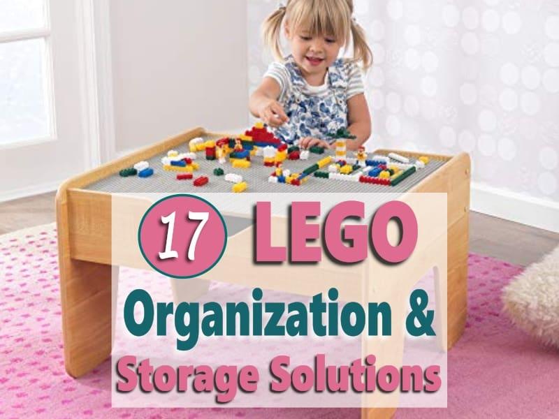LEGO Organization & Storage Solution Ideas
