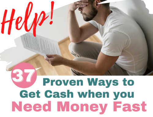 I Desperately Need Money… What To Do When You Need Money Fast
