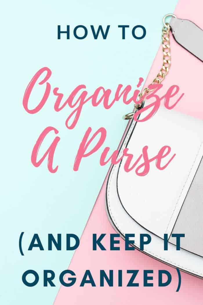 organize a purse