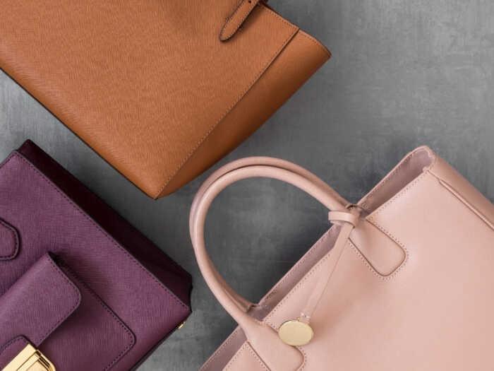 Set of 3 organized purses